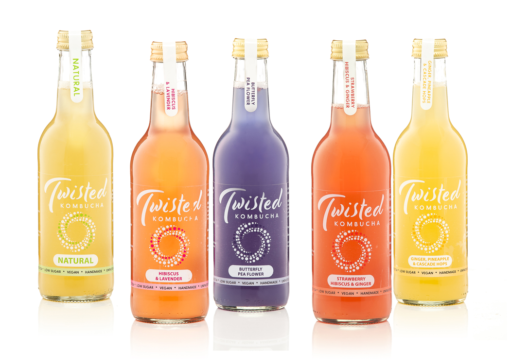 Twisted Kombucha all the flavours